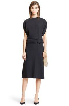 Nina Ricci Twisted Cummerbund Wool Dress available at #Nordstrom