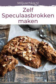 Yummy Cookies, Cake Cookies, Speculaas Cookie Recipe, Baking Recipes, Cookie Recipes, Cake Recept, Good Food, Yummy Food, Vegan