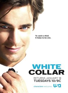 To catch a thief, it helps to be one! A great poster of Matt Bomer from TV's White Collar. Marsha Thomason, Matt Bomer, Alexandra Daddario, Neal Caffrey, To Catch A Thief, Me Tv, Lectures, White Collar, Theme Song