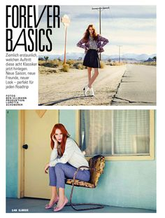 forever basics: brynn by ben ullmann for glamour germany may 2013 |