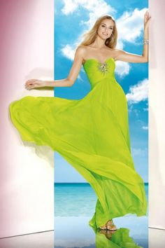 Wishesbridal A Line Evening Dress