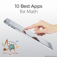 Today we're going to continue with our 10 Best Apps for _________ series. We're going to talk about the best apps for math. There are hundreds of math apps available. But, not all apps have real educational value.