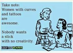 Curvy tattooed women: Getting closer every day to my own FIRST tattoo!!!