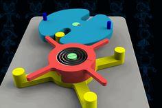 Geneva with Torsion Spring Mechanism - SketchUp,Parasolid,SOLIDWORKS,OBJ,Autodesk 3ds Max,STEP / IGES,STL - 3D CAD model - GrabCAD