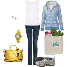 Great outfit for looking pulled together while running errands.