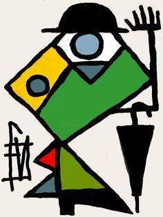 Swedish Flower Hen, Street Art, Art Gallery, Modern Pop Art, Art Original, Arte Pop, Portrait, Art Paintings, Art Pictures