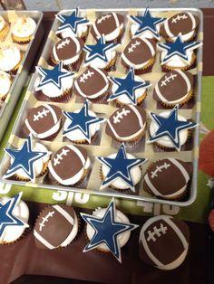 Officially licensed apparel for Dallas Cowboys by FanPrint. Dallas Cowboys Birthday Cake, Cowboy Birthday Cakes, Dallas Cowboys Party, Football Birthday, Cowboy Cupcakes, Football Cupcakes, Giant Birthday Cake, 60th Birthday, Cowboy Theme Party