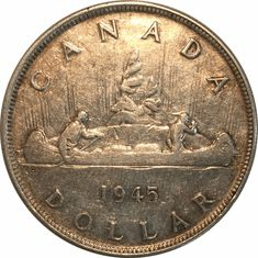 Top 10 Rare Silver Dollars My Road to Wealth and Freedom 1945 Canadian Silver Dollar The post Top 10 Rare Silver Dollars My Road to Wealth and Freedom appeared first on POSPO Investments. Valuable Pennies, Rare Pennies, Valuable Coins, Silver Dollar Value, Old Coins Value, Us Silver Coins, Rare Coins Worth Money, Canadian Coins, Coin Worth