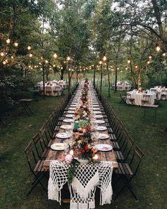 ✨ Who's inspired? Leave a comment below! Decor by Hochzeitswahn . eddingforward - Decoration For Home Magical Wedding, Perfect Wedding, Dream Wedding, Luxury Wedding, Summer Wedding, Wedding Hair, Bridal Hair, Bridal Tips, Forest Wedding