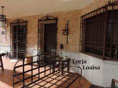 Forja Loaisa,Rejas castellanas instaladas en Talaverilla.