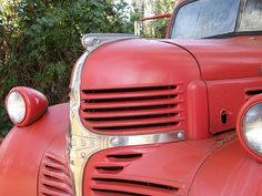 Vintage fire truck 04 by Wanderin' Weeta, via Flickr