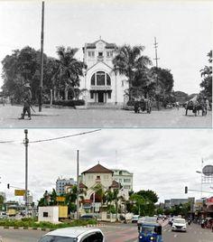 De Bethelkerk aan Meester Cornelis te Batavia, 1937 1941, ,., Gereja Koinonia, jl Matraman, Jakarta, 2015 Jakarta, Old Building, Dutch, Past, Culture, Mansions, History, House Styles, City