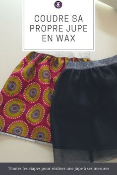 Coudre sa première jupe en seulement 30 mins lTutos couture.com Couture Bb, Couture Sewing, Diy Vetement, Creation Couture, Diy Dress, Yoga, Knit Crochet, Chiffon, Textiles