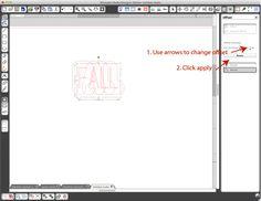 Silhouette Blog: tutorials; larger text fonts