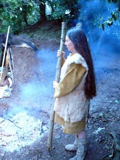 Type of clothing that may have been worn in late Paleolithic/Mesolithic period (15,000-8,000 BC). Most clothes at this time were made from ...