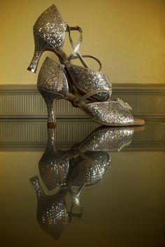 Sparkle ballroom dance shoes, most comfy shoes for a bride Latin Shoes, Ballroom Dance Shoes, Comfy Shoes, Spin, Dream Wedding, Sparkle, Bride, Dresses, Fashion