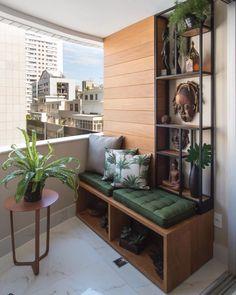 Small Balcony Design, Small Balcony Decor, Terrace Design, Decor Interior Design, Furniture Design, Interior Decorating, Ikea Furniture, Veranda Interiors, Apartment Balcony Decorating