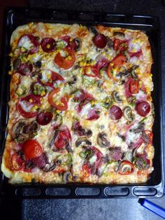 Pepperoni, Vegetable Pizza, Food And Drink, Vegetables, Lovers, Dishes, Cooking Recipes, Vegetable Recipes, Veggies