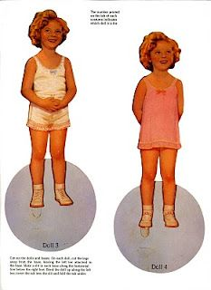 Original Shirley Temple Paper Dolls from The Children's Museum - Dover Publications, Inc., 1988: Dolls - Page 2 (of 2)