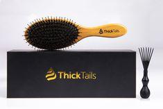 ThickTails Hair Growth Program for Women Dht Hair Loss, Hair Loss Causes, Hormonal Imbalance Causes, Boar Bristle Hair Brush, Make Hair Thicker, Eyebrow Growth Serum, Hair Due, Hair Brush Straightener, Hair Shedding
