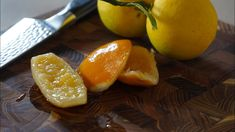 Poached Lemons 🍋 – Bruno Albouze Fruit, Vegetables, Desserts, Sous Vide, Recipes, Pastries, Youtube, Food, Sweets