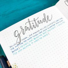 I'm combining my daily Gratitude Log with the prompts from this month's #BohoBerryChallenge and I'm in love! Alternating between a few different blue inks to create this pretty gradient is so fun too! ☺️ - What are you grateful for today? - #bohoberrytribe #bulletjournal #bujo #tnbujo #gratitude #gratitudelog