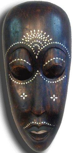 African mask for homework