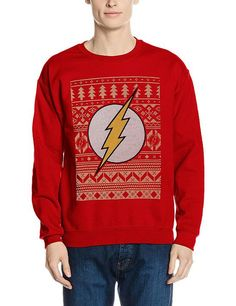 The Flash Christmas Jumper