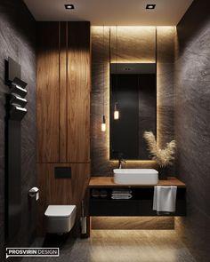 The best design ideas for 2020 ideas – Dekorat … - Modern Washroom Design, Bathroom Design Luxury, Modern Bathroom Design, Modern House Design, Design Loft, Home Room Design, Home Interior Design, Design Design, Graphic Design