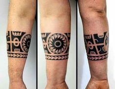 Watchband -Uploaded by LyndaAnn #maoritattoosforearm #samoantattoosforearm