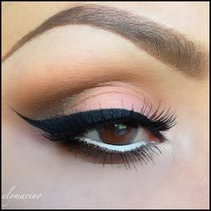 Neutral look with liner