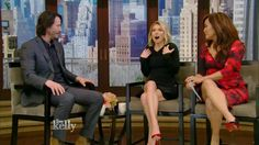KEANU REEVES  interview Live with Kelly 02/02/2017