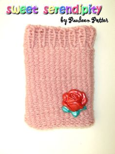 """""""Red Rose"""" Cellphone Sleeve"""