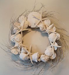 SNOW WHITE WREATH by Marjorie Stafford Design