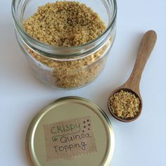 Wat eet je dan wel? - Crispy quinoa topping