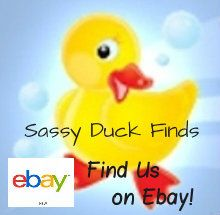 Stop in and find all the ducks, geese, birds, chickens, and other cute animals that Sassy Duck Finds during her shopping trips!