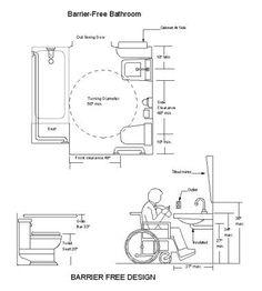 Fine Ada Bathroom Dimensions Bathroom Design Ideas Id 306 Pinterest Largest Home Design Picture Inspirations Pitcheantrous