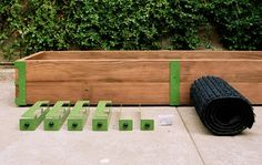 Patio gardening kit