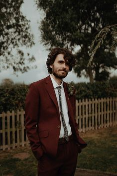 Atmospheric Autumn Wedding in Shades of Dark Red & Burgundy Groom Burgundy Suit Floral Tie Autumn Dark Red Wedding Belle Art Photography Tipi Wedding, Wedding Groom, Wedding Suits, Wedding Attire, Trendy Wedding, Wedding Ideas, Wedding Planning, Party Planning, Wedding Stuff