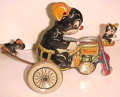 Great Vintage Toy- Aubrey's Antiques Germany