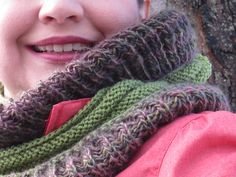 Ravelry: AnnieJeanson's Two Ribs Infinity Scarf