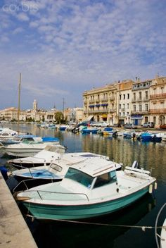 Boats in Sete ~ France