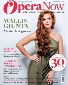 "Wallis Giunta on Instagram: ""It's finally here! With a photo by my wonderful friend, 📷 @kirstennijhofphotography - the cover of #operanow!⁣ ⁣ I'm so grateful for this,…"" Wallis, Grateful, Singer, Photoshoot, Celebrities, Cover, Instagram, Photo Shoot, Celebs"