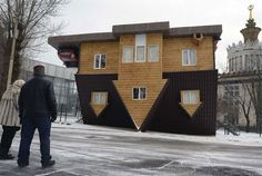 House Built Upside Down – Fubiz™