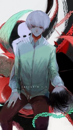 Awesome anime wallpaper to brighten up your desktop. In this list, I will recommend you some of the best anime wallpaper around. Kaneki Fanart, Touka Kaneki, Tokyo Ghoul Fan Art, Ken Tokyo Ghoul, Tokyo Ghoul Wallpapers, Anime Artwork, Noragami, Awesome Anime, Manga Art