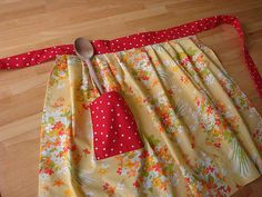apron from a pillowcase