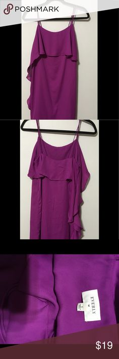 Everly Antrophologie magenta purple dress Small Item is in great condition. No stains or rips. Everly Dresses