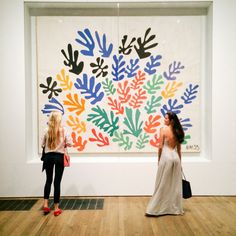 Henri Matisse at The Tate Modern, until 7th Sept. Well worth a trip.