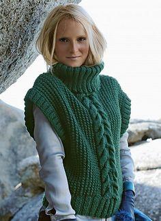 Ravelry: Cat. 12/13 - N° 570 Sleeveless sweater pattern by Bergère de France