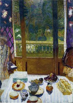 PIERRE BONNARD  Dining Room Overlooking the Garden (The Breakfast Room) (1930-31)